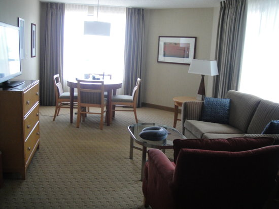Embassy Suites by Hilton Washington-Convention Center : Living room 1