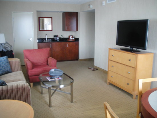 Embassy Suites by Hilton Washington-Convention Center : Living room 2