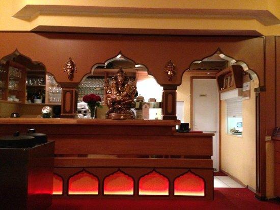 Restaurant Ganesha Fellbach: Theke