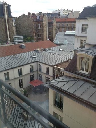 Lenox Montparnasse: View from our room