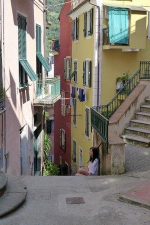 La Casa di Andrea: The street outside the Casa