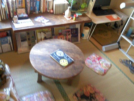 Kanazawa Guest house Pongyi: 居心地の良い共通の部屋