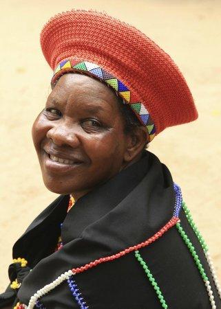 Gooderson DumaZulu Lodge and Traditional Zulu Village: proud lady!