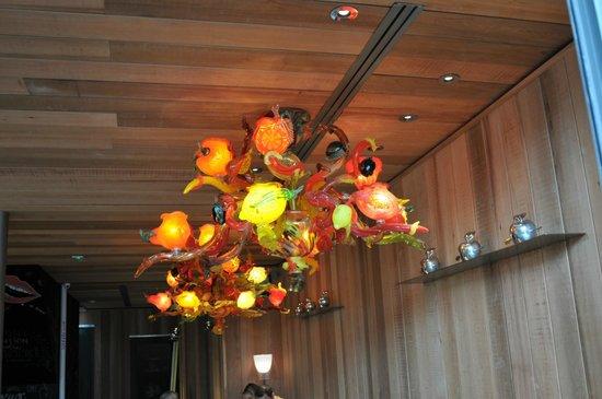 Le Paradis du Fruit : light done by P. Starck