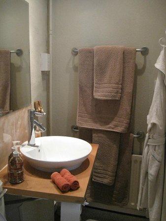 The Manor House Monkton Combe Bath: Eines der Bäder