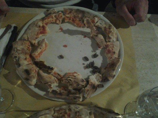Ristorante Pizzeria Il Cappellaccio: ....ecco i bordi di una sola pizza!!!