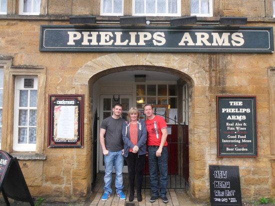 The Phelips Arms: Outside Pub