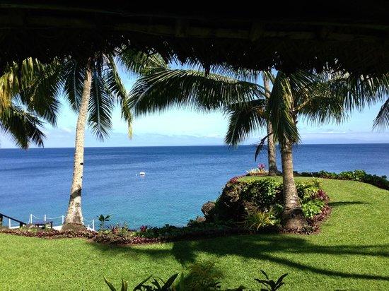 Paradise Taveuni : View from wedding bure