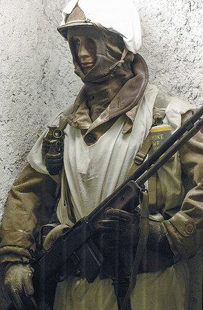 National Museum of Military History : Amerikaanse soldaat in wintercamouflage