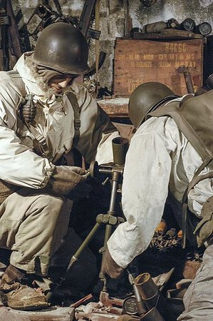 National Museum of Military History : Amerikaanse mortierstelling