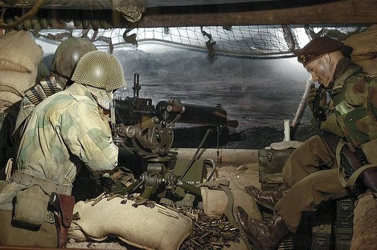 National Museum of Military History : Geallieerde mitrailleurstelling