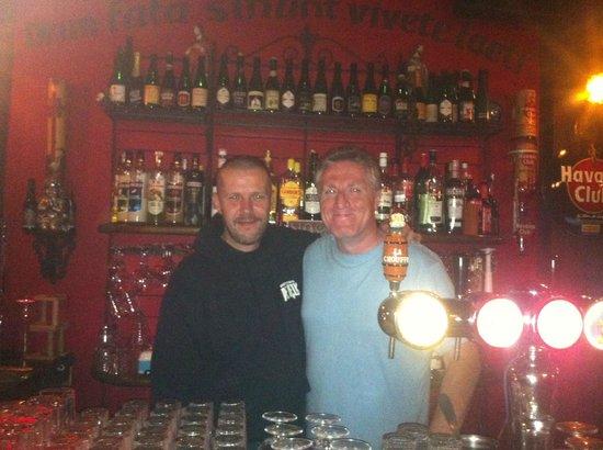 Behind The Bar At De Kelk