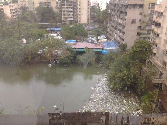 Novotel Mumbai Juhu Beach: Kein schöner Ausblick