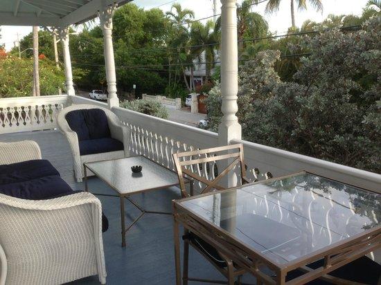 Marquesa Hotel: TERRASSE