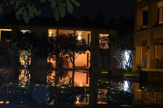 Mandara Resort : view from the room ,the main pool