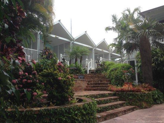 Marquesa Hotel: JARDIN