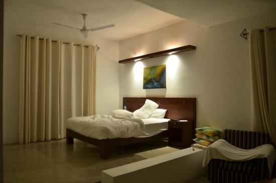 Mandara Resort : the bedroom area