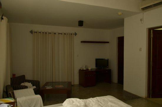 Mandara Resort : the lounge area