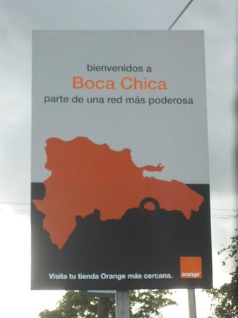 Hotel Garant: THIS HOTEL SAYS WELCOME TO BOCA CHICA