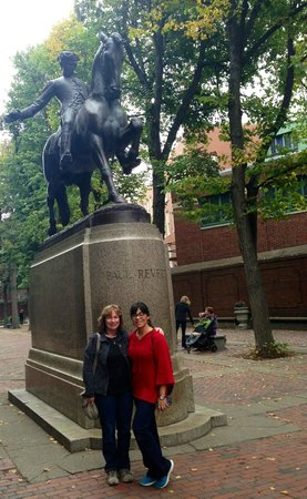 Lessons on Liberty: Paul Revere Statue