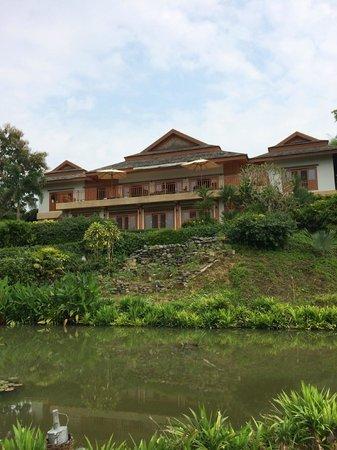 Pa Sak Tong: Rearview of Villa