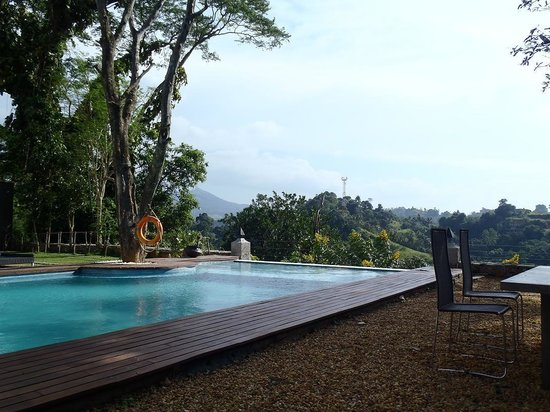 Elephant Stables: Stunning pool view