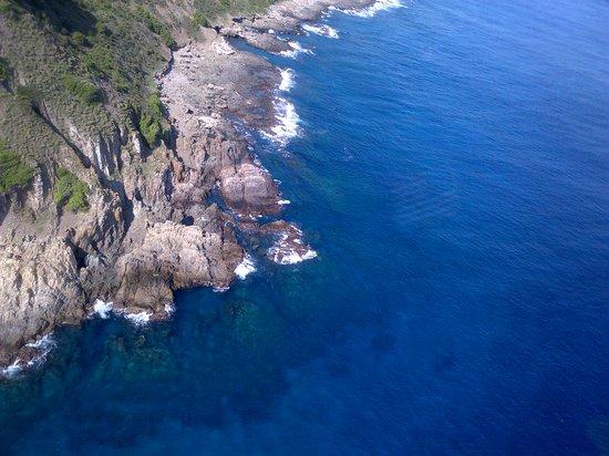 Isla Desecheo : Waters off Desecheo Island, PR