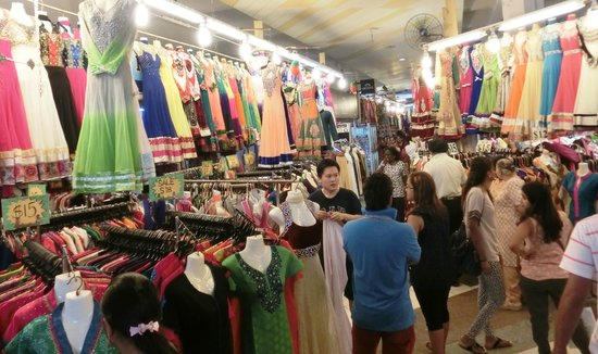 Tekka Centre: Clothing bazaar