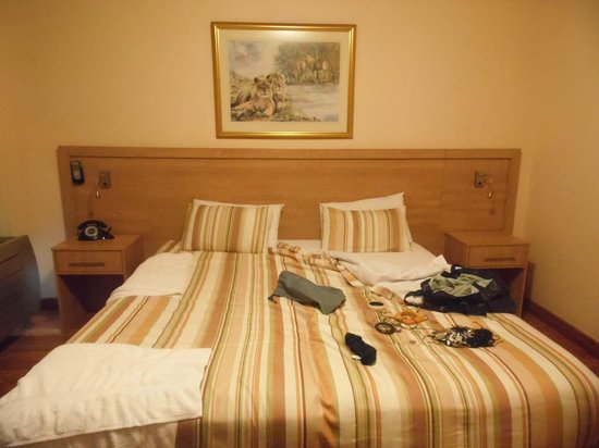 Parliament Hotel: Double bed