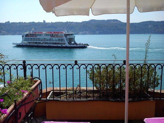 Hotel Vigna : Boat spotting