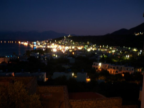 The Hope To Rakadiko Tou Kamari : and then the Sun sets  and you are greeted with a Magical view over Elounda
