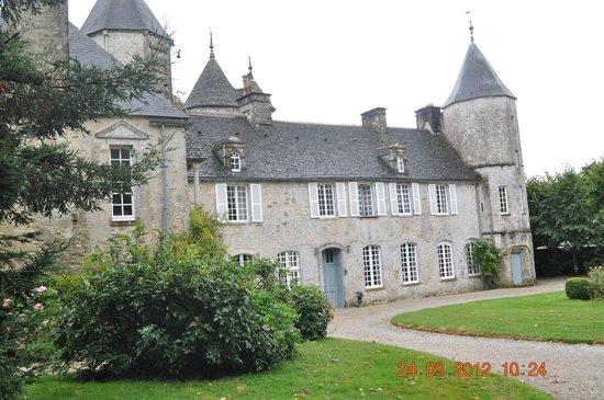 Chateau de Flottemanville : vista d'insieme