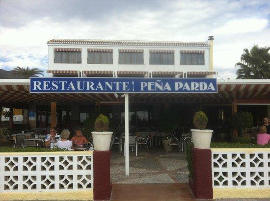 Restaurante Pena Parda La Herradura: Restaurante Pena Parda - entrance