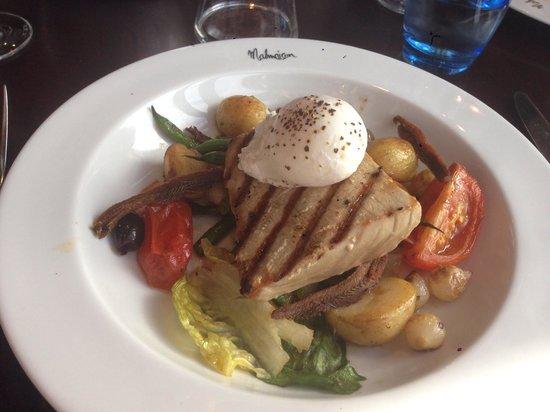 Brasserie and Bar at Malmaison - Liverpool: Tuna nicoise. First class