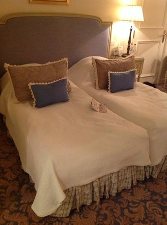 Grand Palace Hotel: standard room with 2 twin beds
