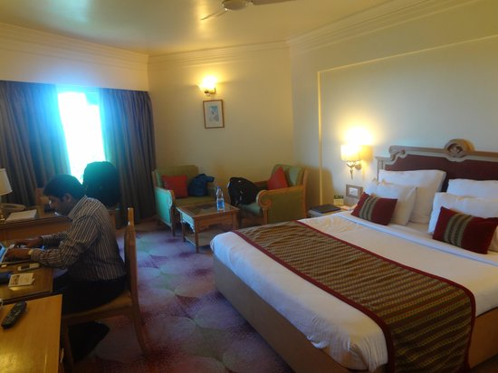 The Pride Hotel Nagpur : Bedroom