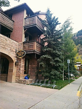 The Hotel Telluride: Drive-In Entry