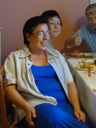 Bed & Breakfast Castiglione : Maria herself