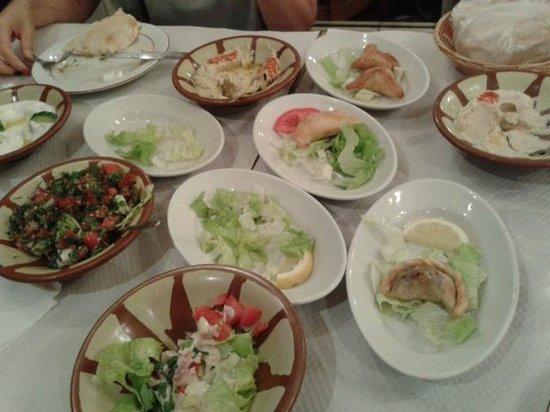 Les vignes du liban: Mazzè...mezzè...comunque ottimeeeee