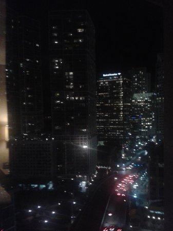 Hyatt Regency Miami: Night view from my window