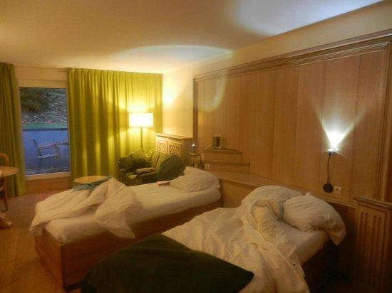 La Clairiere : chambre