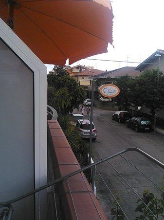 Villa Cesare: vista dal balcone