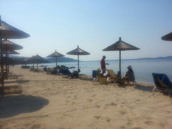 Eagles Palace: The beach at noon