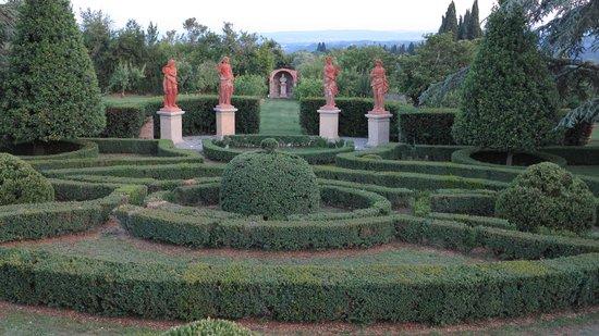 Villa Catignano : Gardens