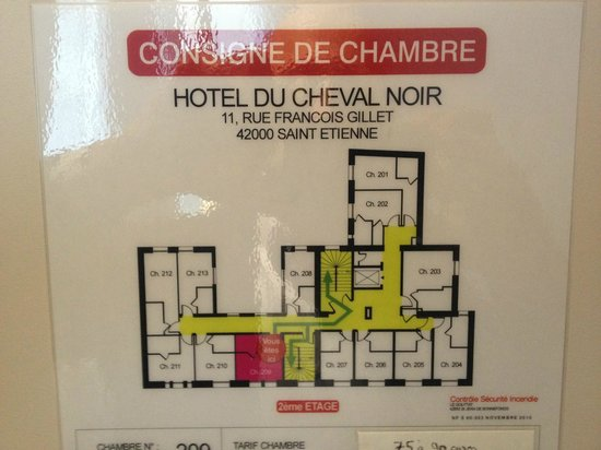 hotel du cheval noir saint tienne voir les tarifs 2017 plus 52 avis et 21 photos tripadvisor. Black Bedroom Furniture Sets. Home Design Ideas