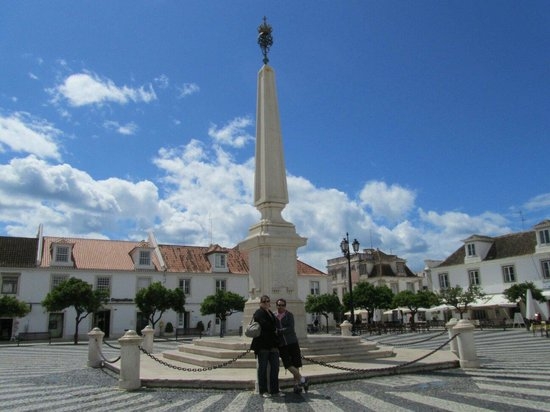 Praca Marques de Pombal: Praça de marques pombal de vila real de santo antonio