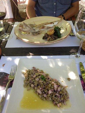 Hostal Sa Rascassa : Lunch
