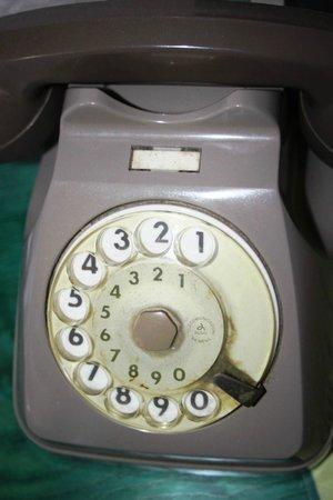 Park Imperial Hotel Terme: Schmutziges Telefon