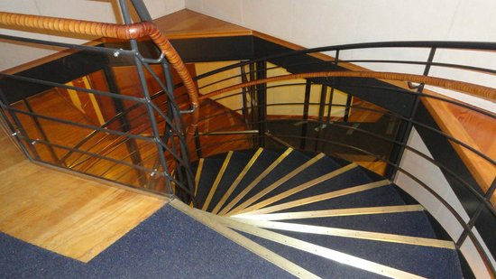 Hotell Barken Viking : Staircase from Reception to third floor