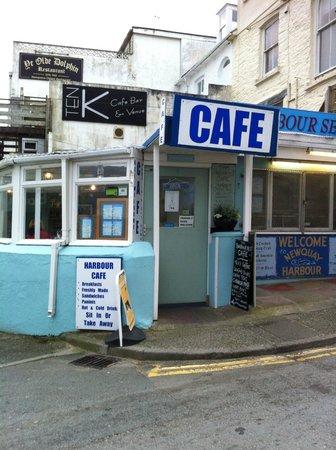 Harbour Rest Cafe: Don't walk past it by accident!